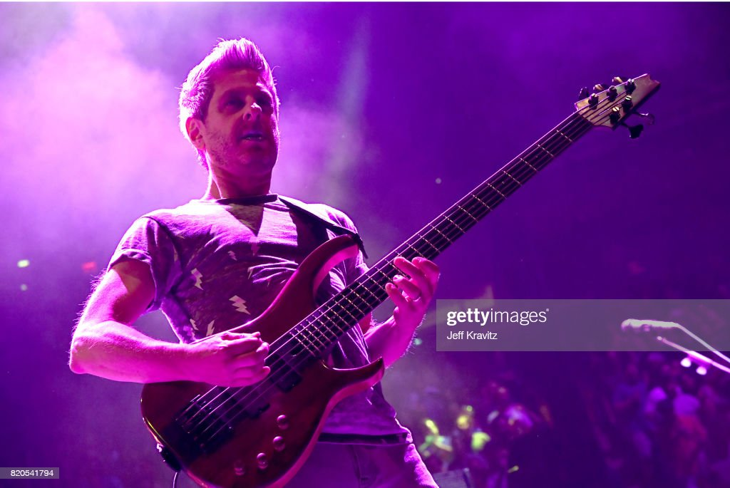 Mike Gordon of Phish performs at 'The Baker's Dozen' Tour Kick-Off at Madison Square Garden on July 21, 2017 in New York City.