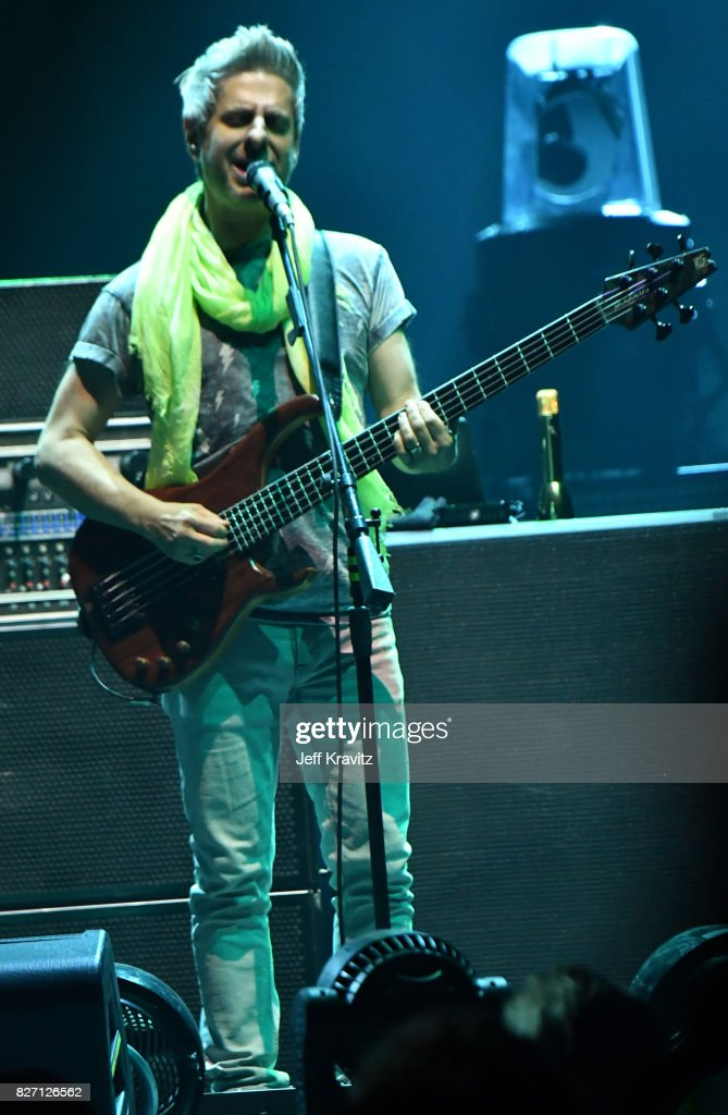 Mike Gordon of Phish performs during 'The Baker's Dozen' Closing Night at Madison Square Garden on August 6, 2017 in New York City.