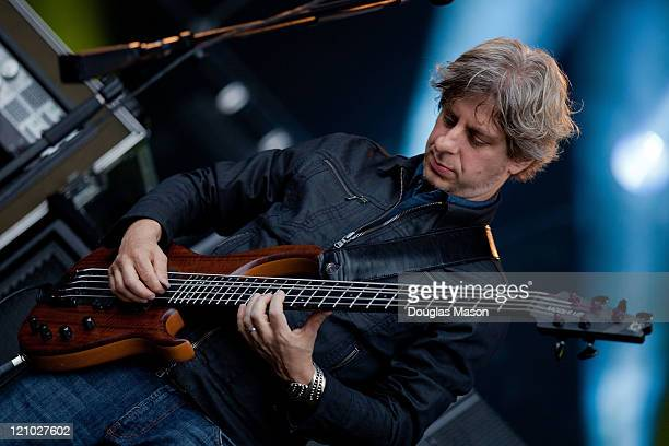 Mike Gordon of Phish performs during the Outside Lands Music Festival 2011 on August 12 2011 in San Francisco California