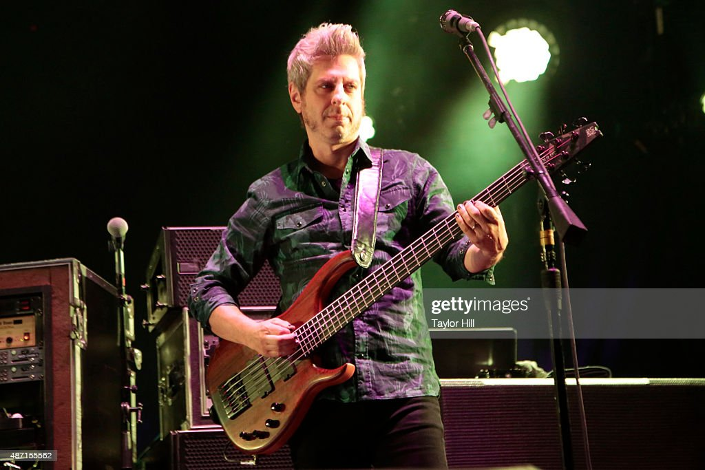 Mike Gordon of Phish performs during their sold-out three-night end to their 2015 Summer Tour at Dick's Sporting Goods Park on September 4, 2015 in Commerce City, Colorado.