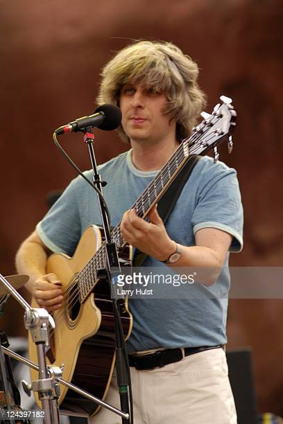 Mike Gordon performs at Red Rocks Amplitheater in Morrison Colorado on July 2 2005