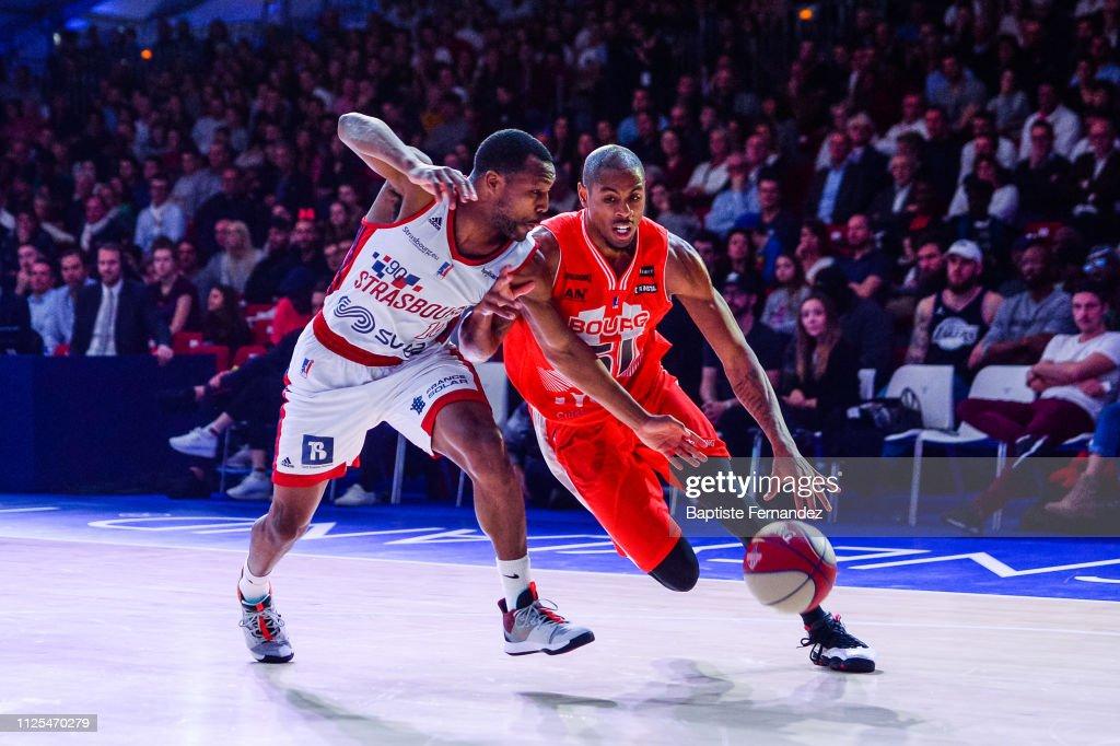 FRA: SIG Strasbourg v JL Bourg Basket - Leaders Cup 2019 : Final