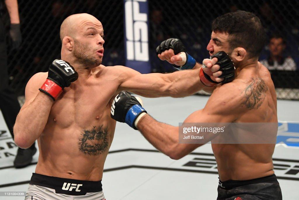 UFC Fight Night: Grundy v Narimani : News Photo