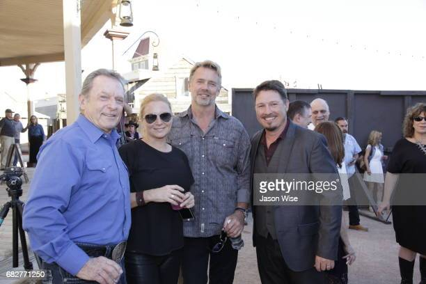 Mike Gursey Alicia Allain John Schneider and Dustin Rikert attend You're Gonna Miss Me premiere sponsored by Visit Tucson on May 13 2017 in Tucson...