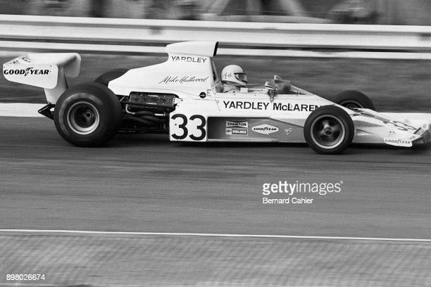 Mike Hailwood, McLaren-Ford M23, Grand Prix of South Africa, Kyalami, 30 March 1974.
