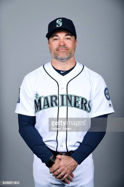 Mike Hampton of the Seattle Mariners poses during Photo Day on Monday February 20 2017 at Peoria Sports Complex in Peoria Arizona