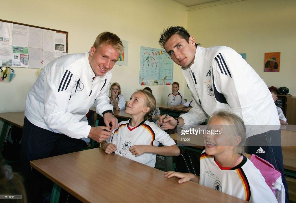 German National Team visit School in Kuehlungsborn