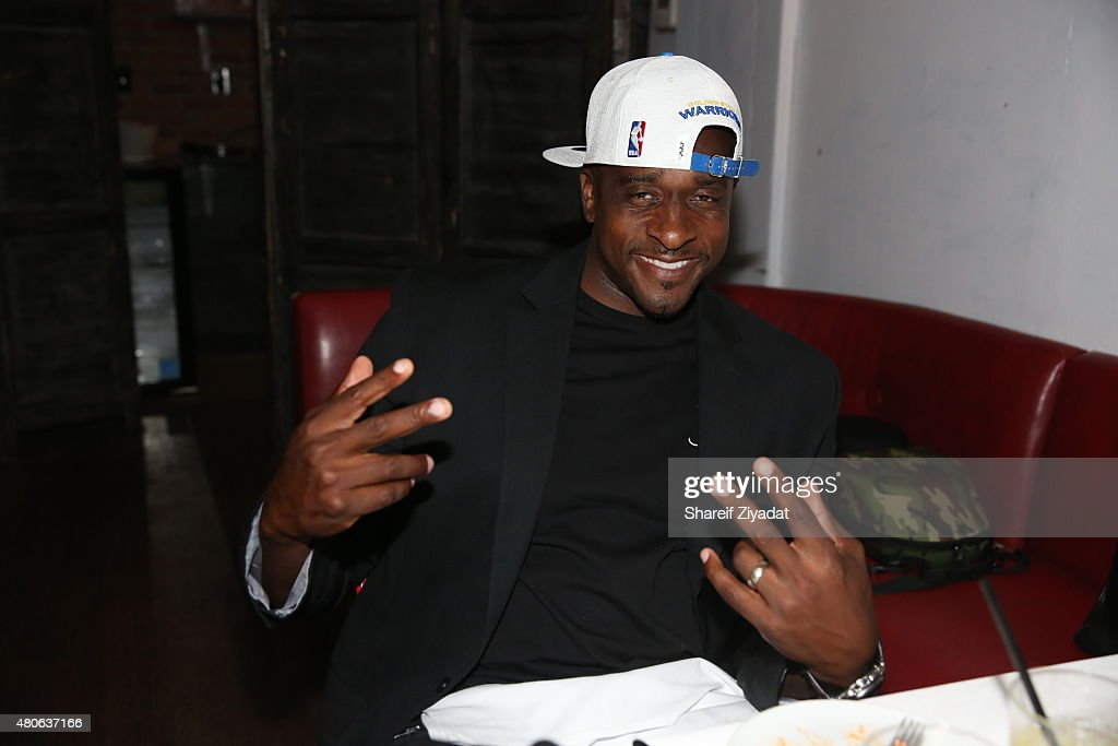 NBA Finals MVP Andre Iguodala Toasts To Men's Fashion Week