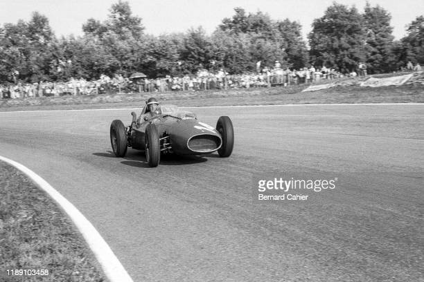 Mike Hawthorn, Ferrari 246, Grand Prix of Italy, Autodromo Nazionale Monza, 07 September 1958.