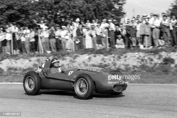 Mike Hawthorn, Ferrari 246, Grand Prix of Italy, Autodromo Nazionale Monza, 07 September 1958.
