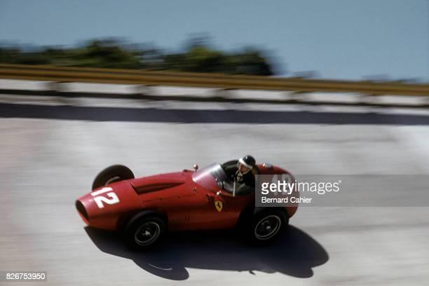 Mike Hawthorn Ferrari 296 MI Race of Two Worlds Monza 07 September 1958