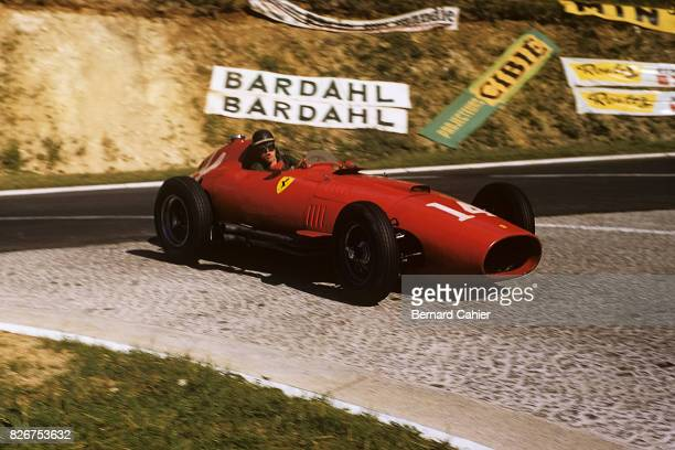 Mike Hawthorn Ferrari 801 Grand Prix of France RouenLesEssarts 07 July 1957