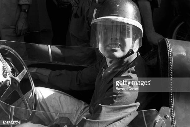 Mike Hawthorn Ferrari 801 Grand Prix of Morocco Casablanca 27 October 1957
