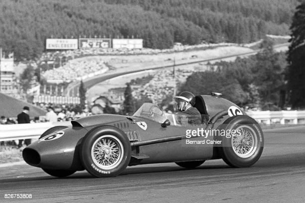 Mike Hawthorn Ferrari Dino 246 Grand Prix of Belgium Spa Francorchamps 15 June 1958
