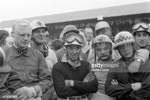 Mike Hawthorn Harry Schell Robert Manzon Froilan Gonzalez Cesare Perdisa Alfonso de Portago Grand Prix of Great Britain Silverstone Circuit 14 July...
