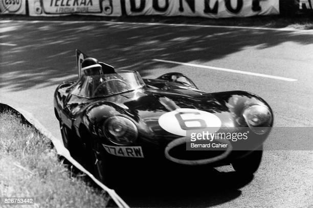 Mike Hawthorn, Jaguar D-Type, 24 Hours of Le Mans, Le Mans, 12 June 1955.
