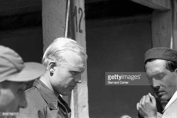 Mike Hawthorn Luigi Musso Grand Prix of Germany Nurburgring 04 August 1957