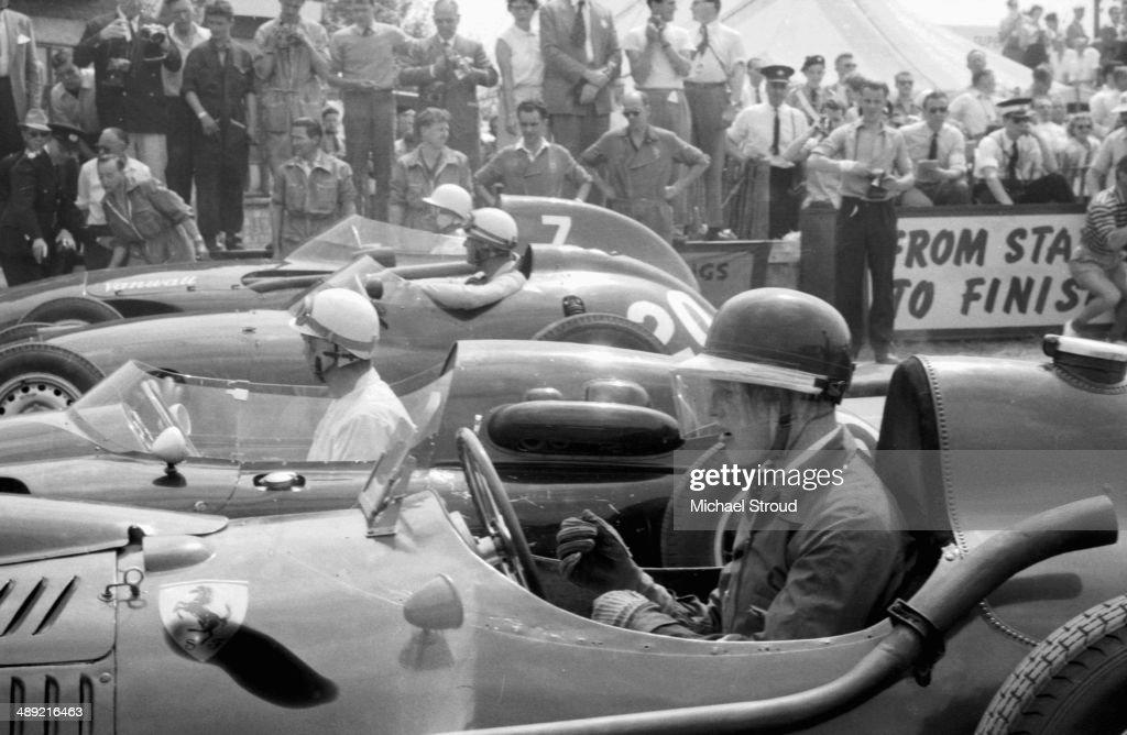 British Grand Prix 1958 : News Photo