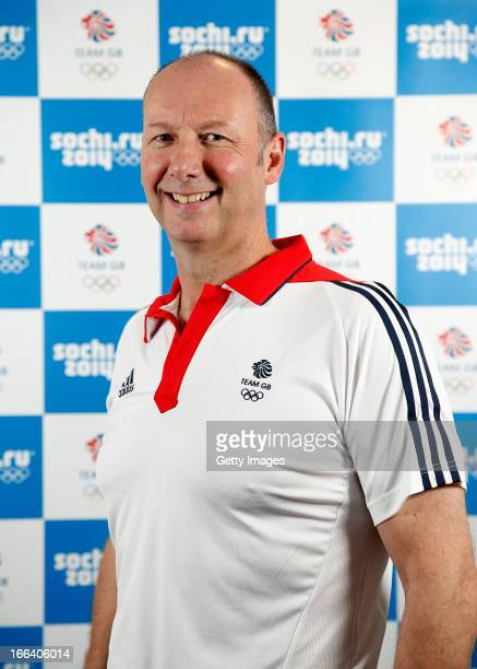 Mike Hay poses for a portrait after he was named as theTeam GB Chef de Mission for the Sochi 2014 Olympic Winter Games on April 12 2013 in London...