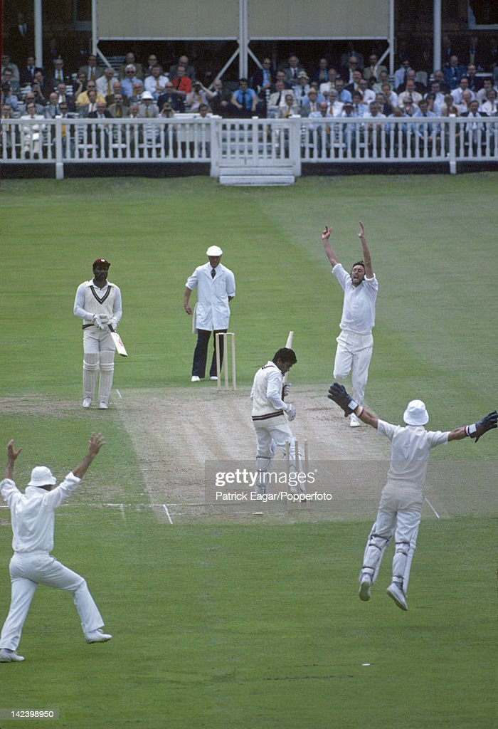 """Cricket World Cup 1979, England v West Indies at Lord's (Final)"" : ニュース写真"