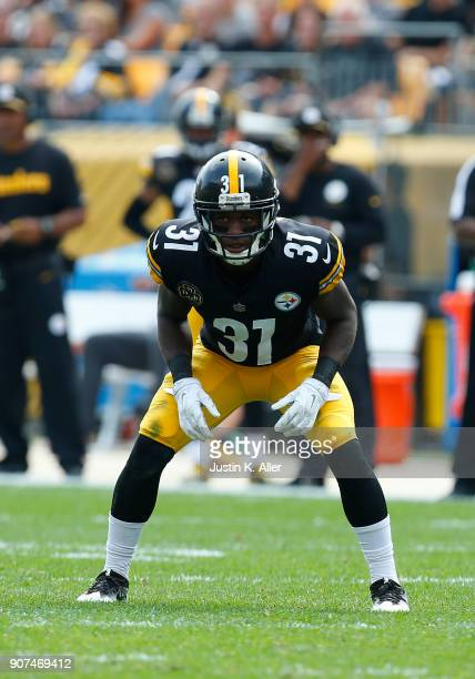 Mike Hilton of the Pittsburgh Steelers in action against the Minnesota Vikings on September 17 2017 at Heinz Field in Pittsburgh Pennsylvania