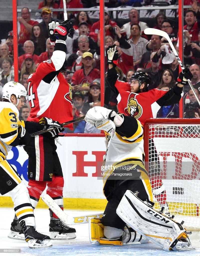 Pittsburgh Penguins v Ottawa Senators - Game Three : News Photo