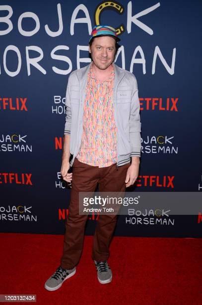 Mike Hollingsworth attends the premiere of Netflix's Bojack Horseman Season 6 at the Egyptian Theatre on January 30 2020 in Hollywood California