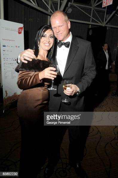 Mike Holmes and Anna Zappia attend the 2008 Gemini Awards