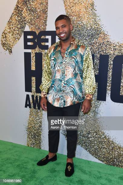 Mike Holston arrives to the BET Hip Hop Awards at the Fillmore Miami Beach on October 6 2018 in Miami Beach Florida