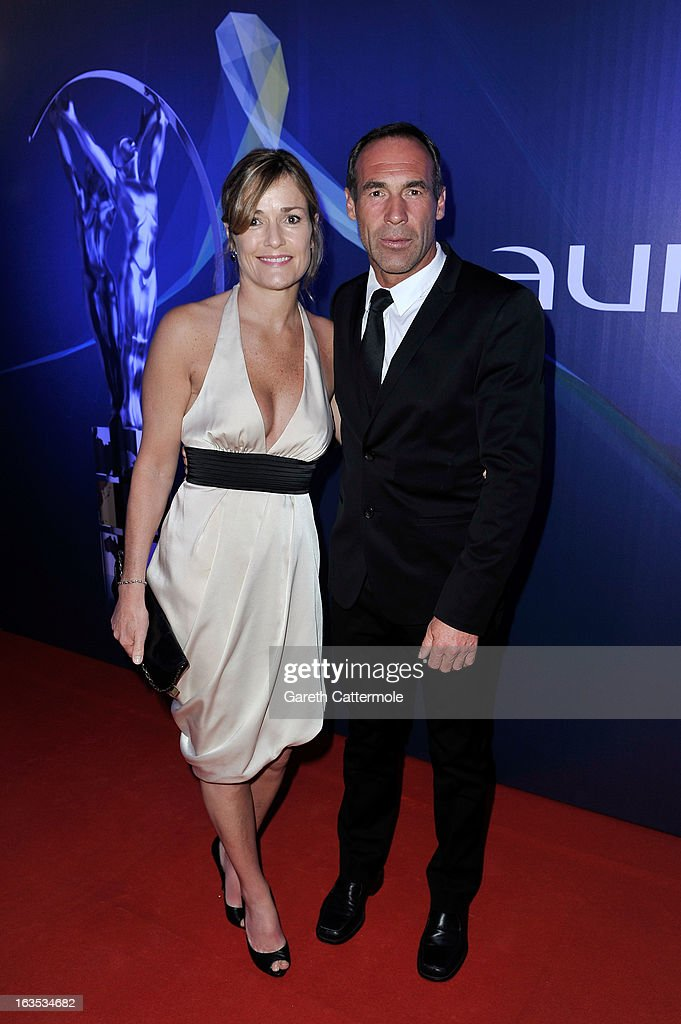 Mike Horn and guest attends the 2013 Laureus World Sports Awards at the Theatro Municipal Do Rio de Janeiro on March 11, 2013 in Rio de Janeiro, Brazil.