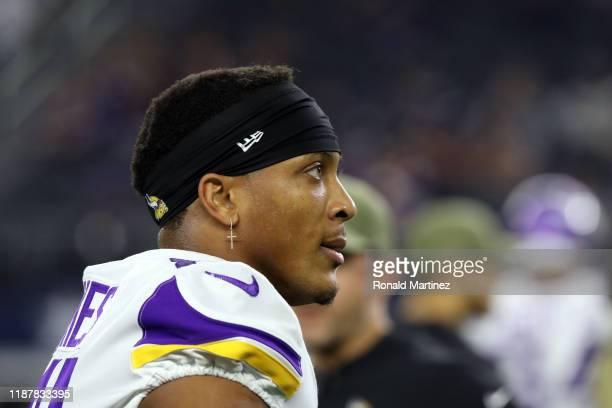 Mike Hughes of the Minnesota Vikings at ATT Stadium on November 10 2019 in Arlington Texas