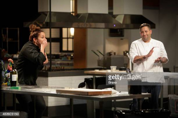 "Mike Isabella vs Antonia Lofaso"" Episode 103 -- Pictured: Antonia Lofaso, Mike Isabella --"