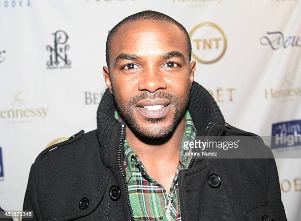 Mike James attends the Kenny Smith 8th Annual AllStar Bash on February 12 2010 in Dallas Texas