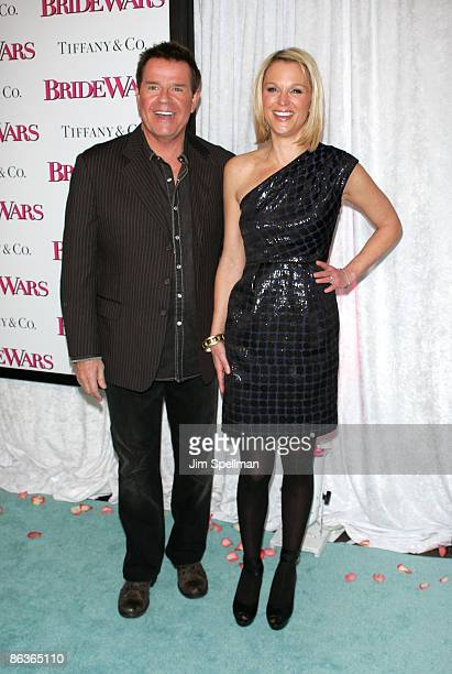 Mike Jerrick and Juliet Huddy attend the premiere of Bride Wars at the AMC Loews Lincoln Square on January 5 2009 in New York City