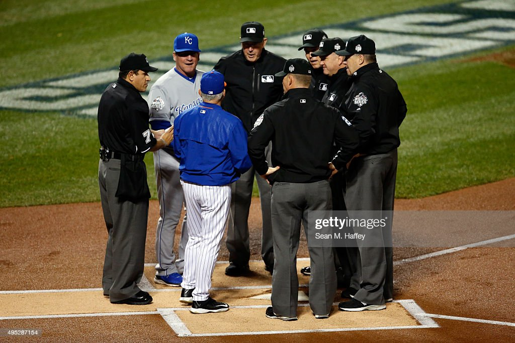 World Series - Kansas City Royals v New York Mets - Game Five : News Photo