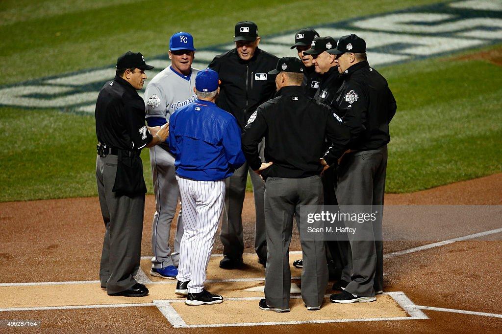 World Series - Kansas City Royals v New York Mets - Game Five : Fotografia de notícias