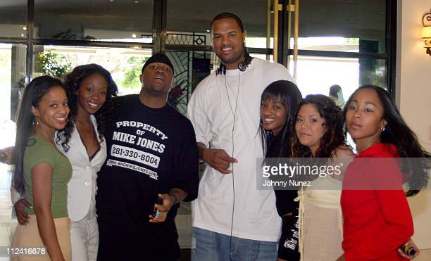 Mike Jones Slim Thug and The Axe Models during AXE Mojo Master The Game in Los Angeles in Los Angeles California United States