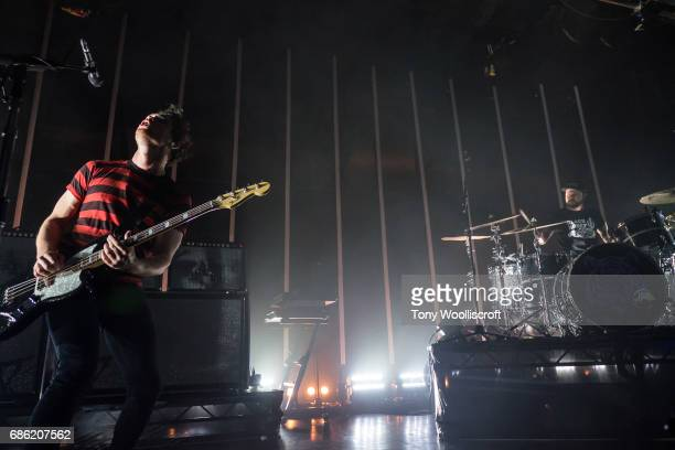 Mike Kerr and Ben Thatcher of Royal Blood perform at O2 Academy Leicester on May 20 2017 in Leicester England