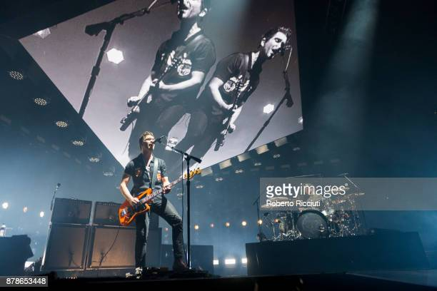 Mike Kerr and Ben Thatcher of Royal Blood perform at The SSE Hydro on November 24 2017 in Glasgow Scotland