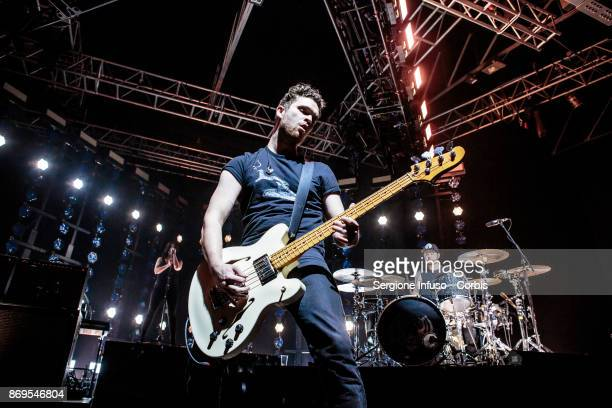 Mike Kerr and Ben Thatcher of Royal Blood perform on stage on November 2 2017 in Milan Italy