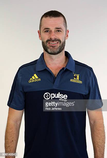 Mike Kerr Commercial Manager of the Highlanders poses for a portrait on January 22 2016 in Dunedin New Zealand
