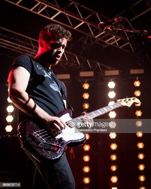 Mike Kerr of Royal Blood Perform at Fabrique on stage on November 2 2017 in Milan Italy