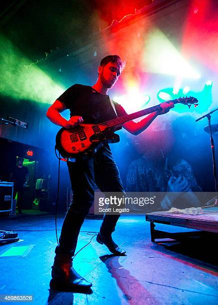 Mike Kerr of Royal Blood performs at St Andrews Hall on December 2 2014 in Detroit Michigan