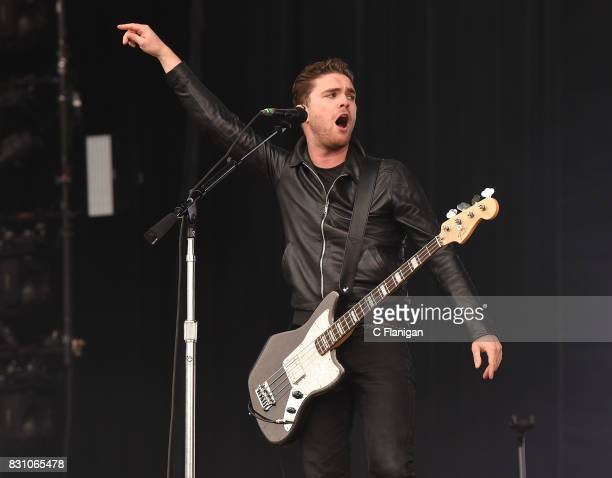 Mike Kerr of Royal Blood performs during the 2017 Outside Lands Music and Arts Festival at Golden Gate Park on August 12 2017 in San Francisco...