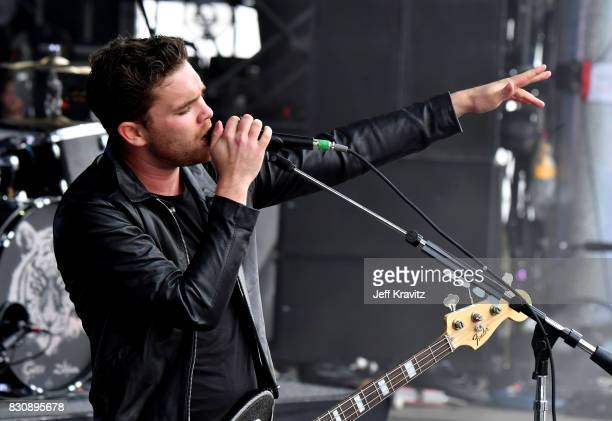 Mike Kerr of Royal Blood performs on Lands End stage during the 2017 Outside Lands Music And Arts Festival at Golden Gate Park on August 12 2017 in...