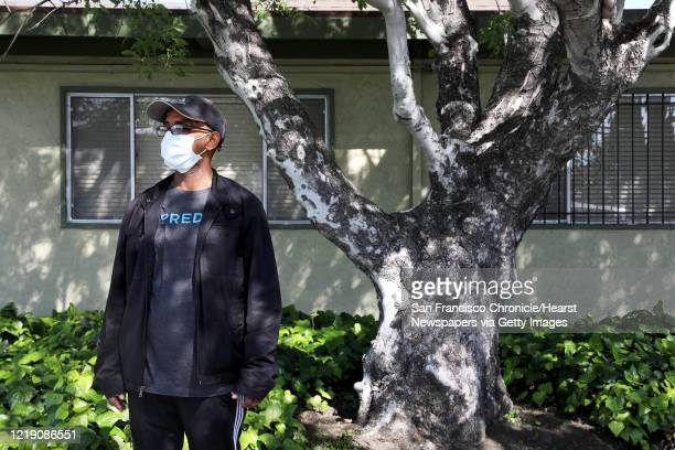 Mike Kifle of San Jose poses for a photo at Gateway Care and Rehabilitation on Wednesday April 15 in Hayward Calif Kifle's father Ghebre Michael...