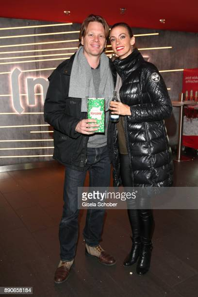 Mike Kraus and his wife Constanze Coco Kraus during the 'Dieses bescheuerte Herz' premiere at Mathaeser Filmpalast on December 11 2017 in Munich...