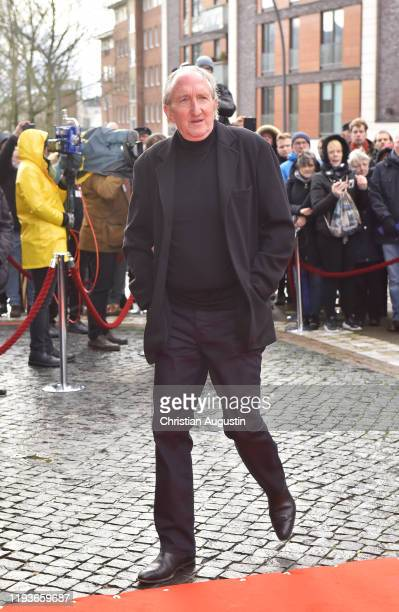 Mike Krueger during the memorial service for Jan Fedder at Hamburger Michel on January 14 2020 in Hamburg Germany German actor Jan Fedder was...