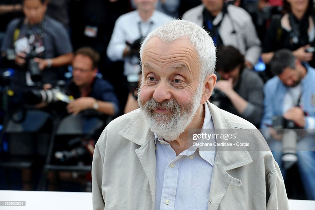 Mike Leigh at the Photocall for 'Another year Premiere' during the 63rd Cannes International Film Festival.