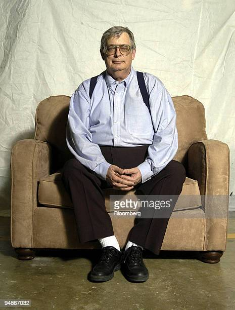 Mike Liedka president of WideBodies Furniture sits on a newlybuilt easy chair at his company's factory in New Braunfels texas on Wednesday March 17...